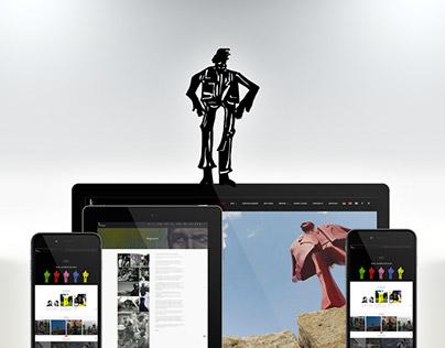 Kurt Laurenz Metzler, Rebrand + Website