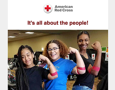 American Red Cross email - Sickle Cell