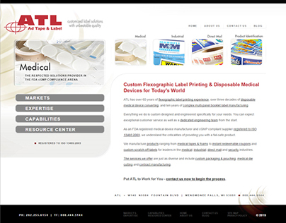 ATL website redesign & SEO