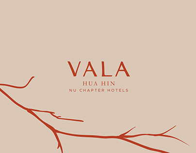 VALA Hua Hin – Nu Chapter Hotels – Brand Identity
