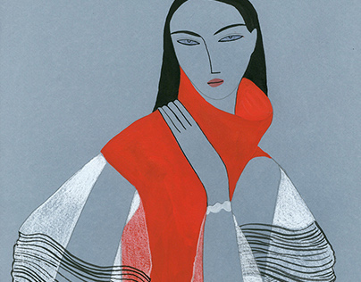 JW ANDERSON AW16/ Fashion Illustrations