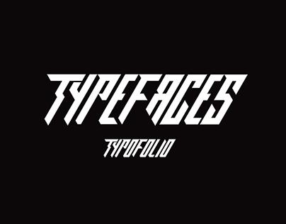 Typefaces//Typofolio