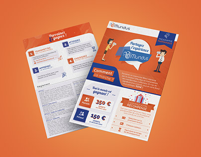Emundus: Flyer print design