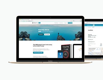 Sherpa Prep GRE Website & Store