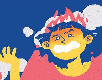 10 ways to express anger
