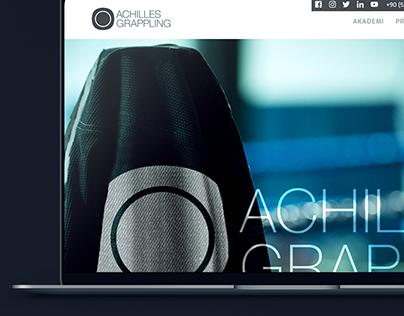 Achilles Grappling Website Design