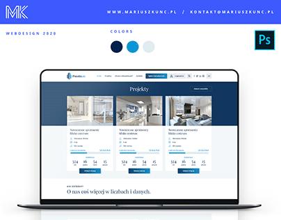 Piesto / inwestycje w nieruchomości / webdesign