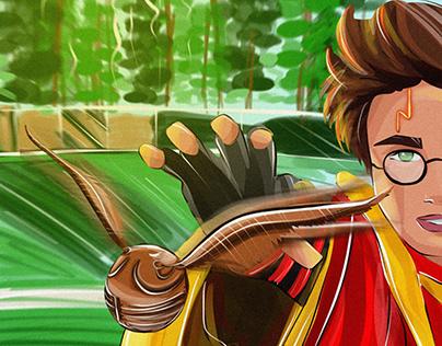 Character design. Harry Potter week promts