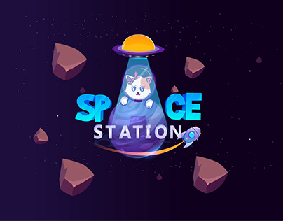 Space station Game App