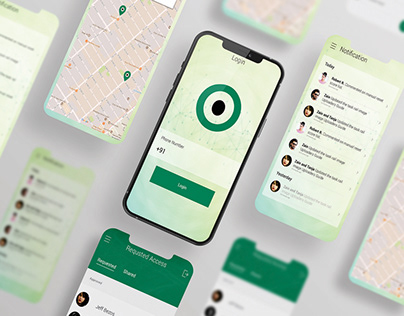 Mobile app to track your buddy