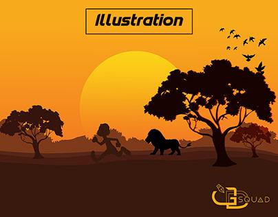 Background Illustration Children book illustration