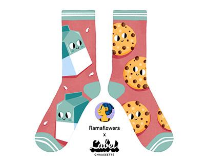 Breakfast Socks Collection