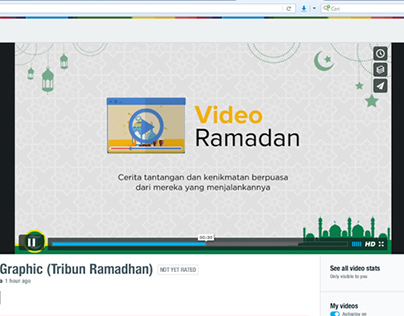 Motion Graphic (Tribun Ramadan)
