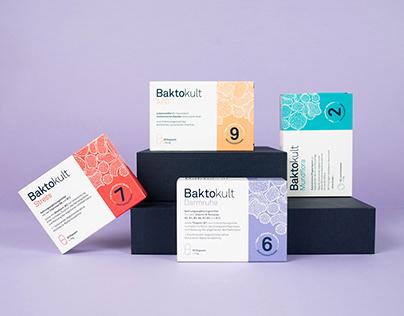 Baktokult Probiotics | Packaging