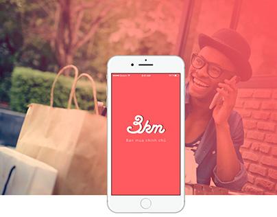 3KM - Shopping App