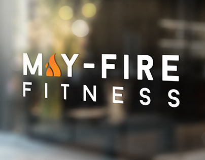 MAY-Fire Fitness // Branding