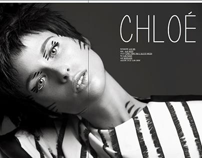 Chloe for Kaltblut mag, Anniversary Rebelious issue