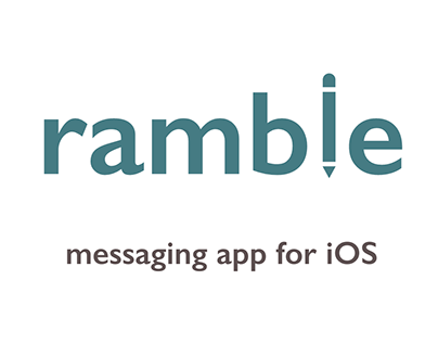 ramble | Messaging App