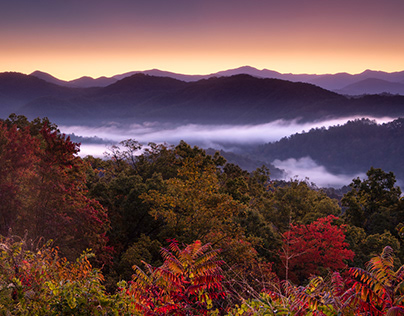 Great Smoky Mountains in the Autumn