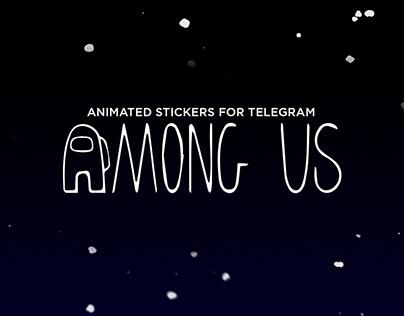 Among Us - sticker pack