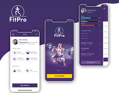 FitPro - Health & Fitness Mobile Application