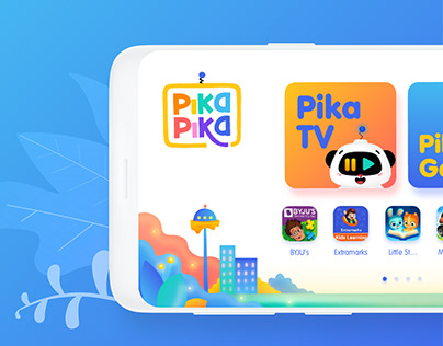 PikaPika- Kids Safety App- UI Design