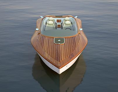 Raceline 26' Powerboat Concept