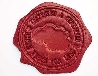 3D Wax Stamp Logo