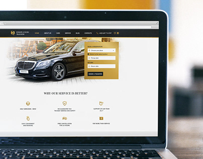 Europe Luxury Transfer Website