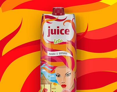 Juice Leto освежающие соки