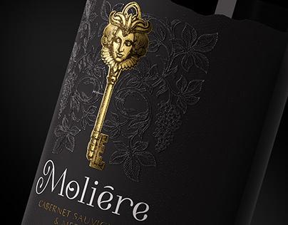 "Wine design TM ""Moliere"" France"