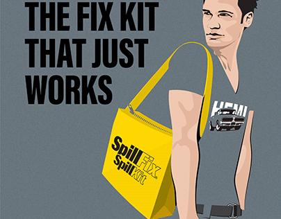 SpillFix Spill Kits Animation Assets