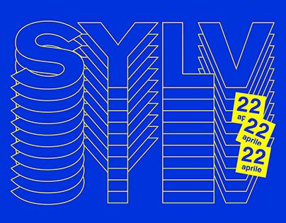 SYLV Festival. Brand Identity and Poster Design