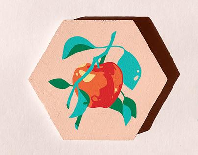 Posca Fruit Series