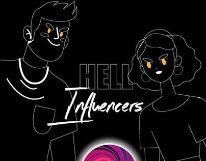 Hell influencers - Novela gráfica