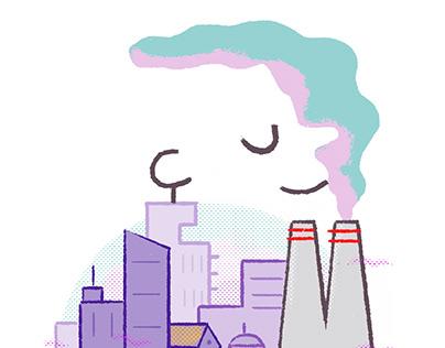 Ciudad persona/ Person City- Madrid Gráfica
