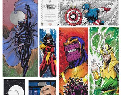 UpperDeck - Marvel Sketch Cards