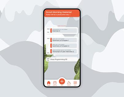 StudyPeak App Design