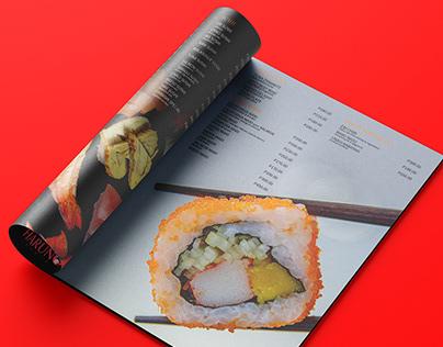 Haruno Izakaya Japanese Restaurant Menu