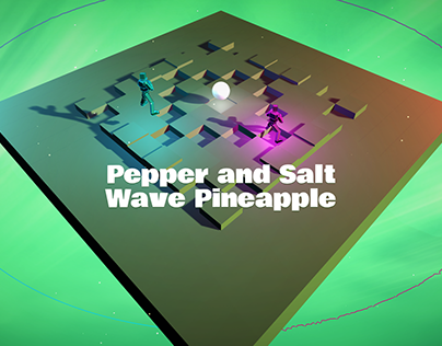 Pepper & Salt Wave Pineapple