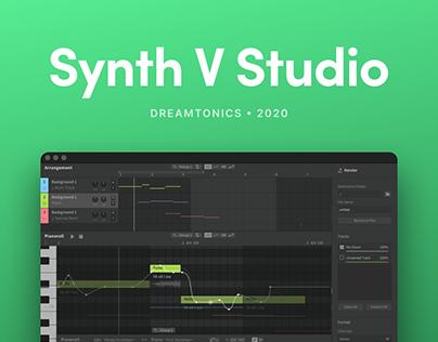 Synthesizer V - UI Design