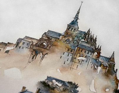Le Mont Saint-Michel for Mungyo