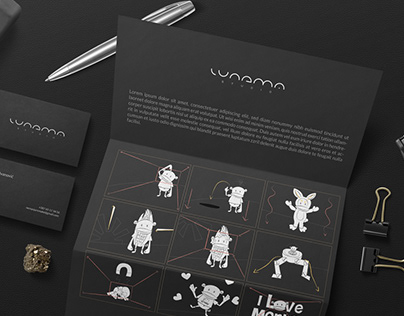 Lunema Studio // Logo design