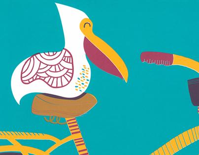 Pelican Cruise: A Poster for ARTCRANK