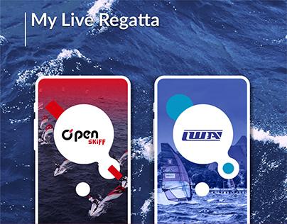 My Live Regatta - Dedykowana aplikacja eventowa