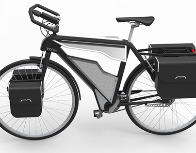 Tobi - Electric assisted trekking bike