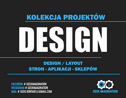 Kolekcja Projektów | DESIGN | LAYOUT | STRONY | APK |
