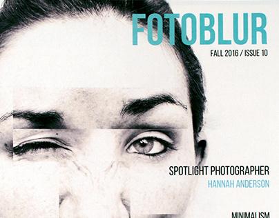 Fotoblur, Magazine