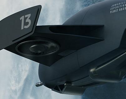 CGI I THE ARMADILLO SHIP