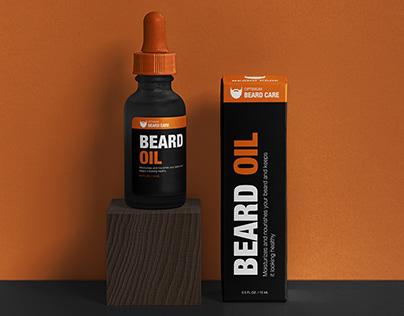 Optimum Beard Care Branding Design